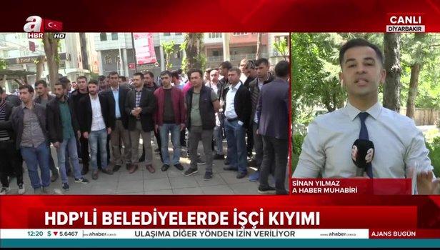 CHP ve HDP'li belediyelerin işçi kıyımına isyan büyüyor