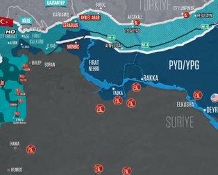 İşte YPG'nin Suriye'deki petrol kuyuları!