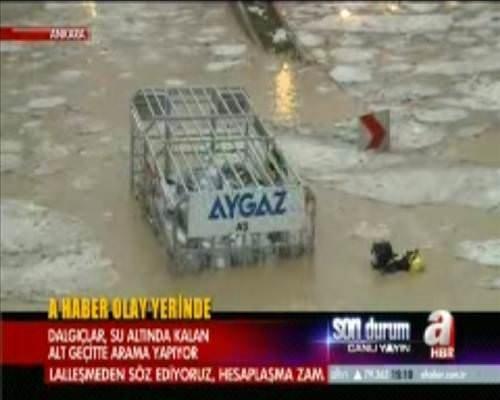 Ankarayı su bastı!