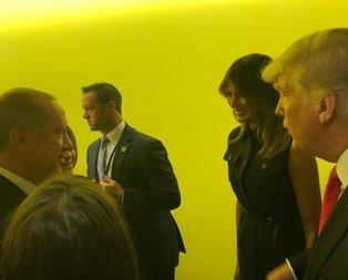 Başkan Erdoğan Trump ile BM Genel Kurulunda görüştü