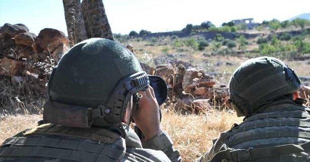Taciz ateşi açan 3 terörist öldürüldü