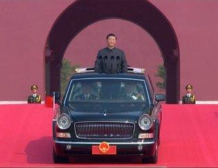 Çin 70.yıl kutlamalarıyla dünyaya gözdağı verdi! Onlar ilk kez ortaya çıktı...