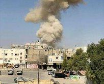 Suriye'nin Bab ilçesinde bombalı saldırı