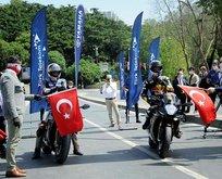 İstanbul'da nefes kesen ralli!
