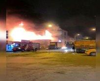 Yenibosna'da iş yerinde patlama