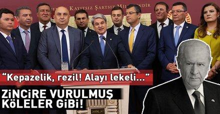 Devlet Bahçeli İYİ Parti'ye geçen 15 milletvekilinin CHP'ye geri dönmesini eleştirdi