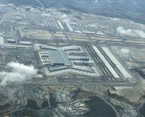 Yeni Havalimanının havadan görünümü