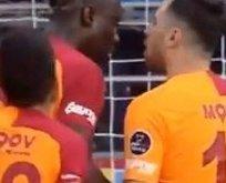 Sinan Gümüş ve Diagne arasında penaltı kavgası!