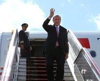 Cumhurbaşkanı Erdoğan Moldovaya gitti