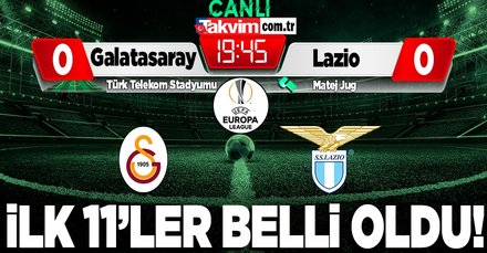 Galatasaray - Lazio | CANLI