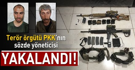 Son dakika: Şırnak'ta PKK'lı 2 terörist yakalandı