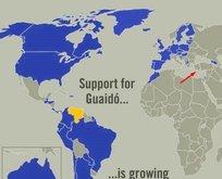 ABD'den skandal haritalı paylaşım!