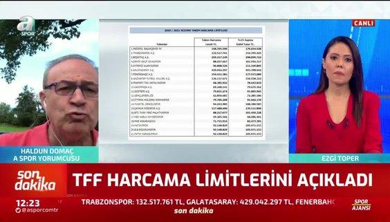 SON DAKİKA HABERİ: Türkiye Futbol Federasyonu harcama limitlerini açıkladı! İşte kulüplerin transferde harcayabilecekleri limitler...