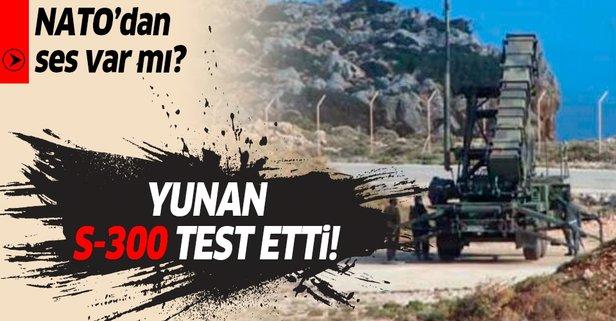 Yunanistan'dan provokasyon! Girit'te S-300 test edildi...
