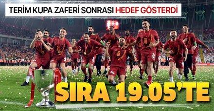 Ziraat Türkiye Kupası'nı alan Cimbom lige odaklandı! Şimdi sıra 19.05'te