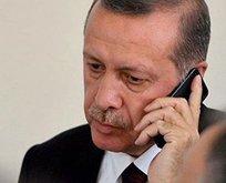 Başkan Erdoğan'dan Merkel'e taziye telefonu