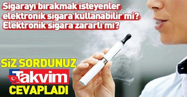Elektronik sigara zararlı mı?