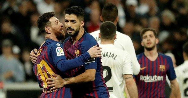 El Clasico'da zafer yine Barcelona'nın!