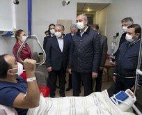 Adalet Bakanı Gül depremzedeleri ziyaret etti