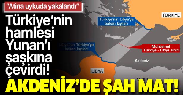 Türkiye'den Doğu Akdeniz'de şah mat