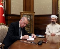 Başkan Erdoğan'dan kurban bağışı