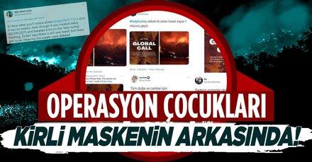 'Global Call Help Turkey' maskesi düştü