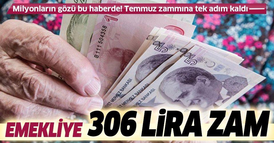 Emekliye 306 lira zam | 2020 SSK SGK ve Bağ-Kur güncel emekli maaşı zam oranı ne kadar olacak?