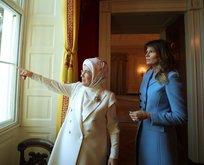 Emine Erdoğan'dan Melania Trump'a teşekkür