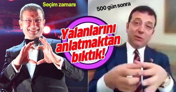 Ekrem İmamoğlu musibeti...