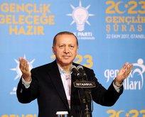 Erdoğandan gençlere Şeyh Edebalinin sözleriyle nasihat