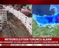 Giresun'da yaşanan sel felaketinin ardından turuncu alarm!