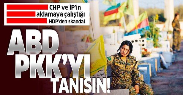HDP'li isimden skandal makale: ABD, PKK'yı tanısın!