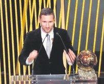 6. kez Messi!