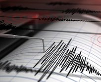 Akdeniz'de korkutan deprem