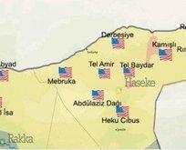 Terör kamplarını Amerika bayrakları süslüyor