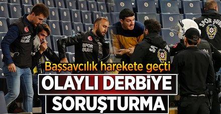 Başsavcılık tatil edilen Fenerbahçe-Beşiktaş maçı için soruşturma başlattı