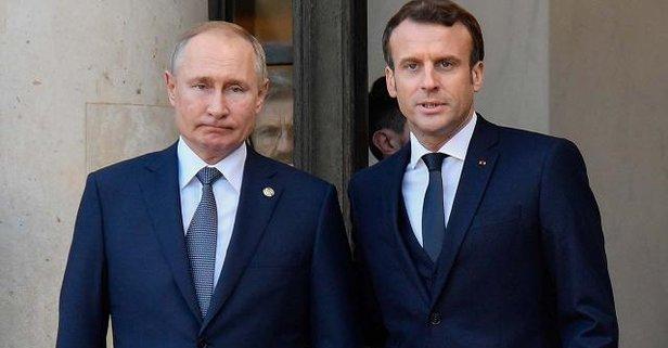 Putin ve Macron telefonda görüştü