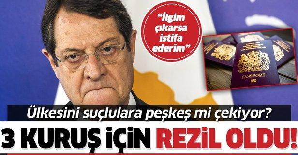 Rum lider Nikos Anastasiadis'in başı dertte!