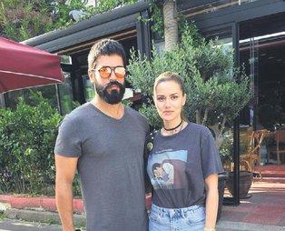 Fahriye Evcen'den eşi Burak Özçivit'in yeni imajı için aşk dolu sözler