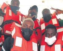 Onyekuru ve Etebo Benin'e tekne ile gitti