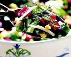Narlı Yeşil Salata Tarifi