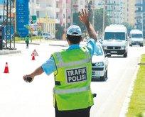 Trafik canavarına 5 bin TL