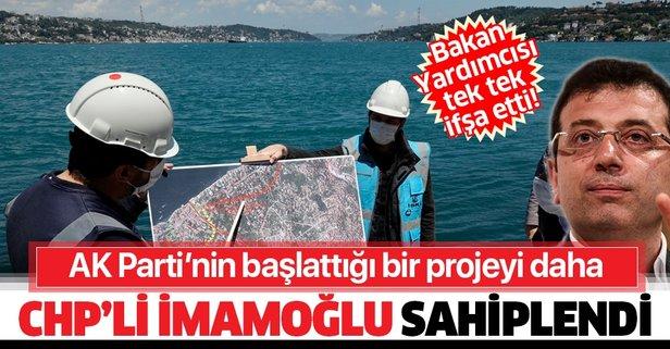 CHP'li İmamoğlu bir projeyi daha sahiplendi!