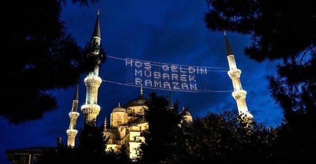 Ramazan ne zaman başlıyor? İşte ilk oruç ve sahur vakti