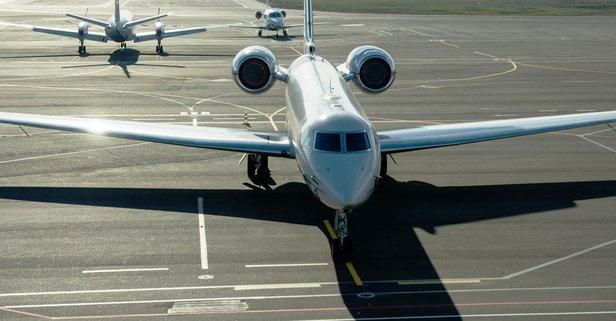 İngiltere, özel jetlerin neden olduğu hava kirliliğinde...