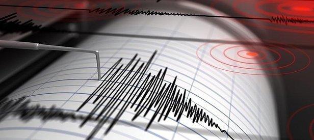 Son dakika: Ege Denizi'nde 4 büyüklüğünde deprem