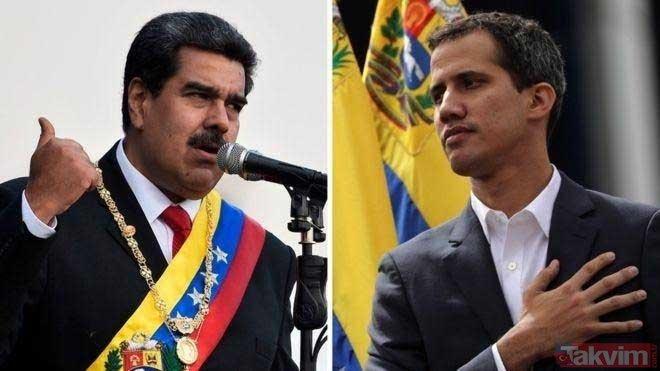 Venezuela'da darbe girişimi! Ülkeler tarafını seçti... İşte Maduro'yu ve Juan Guaido'yu destekleyen ülkeler