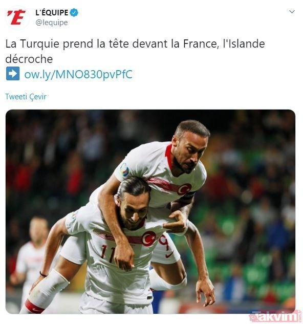 Fransa'da gündem Moldova'yı 4-0'la geçen Türkiye!