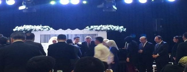 Hakan Fidanın oğlu gizli bir törenle evlendi