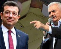 İstanbul ilçelerdeki geçersiz oy sayımı sonuçları